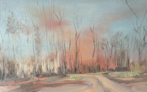 Abendfeuer im Wald, 2021