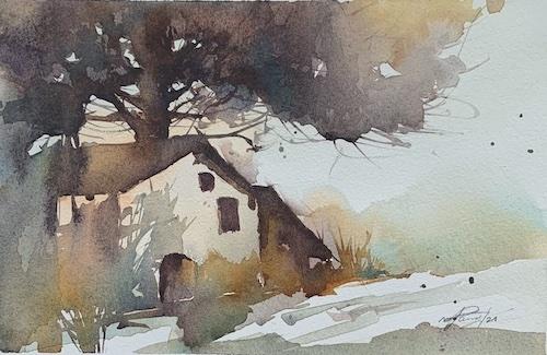 Kleines Haus am Dorfende, 2021